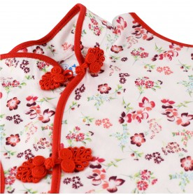 FIFFY CNY FLOWERY BLOUSE SUIT