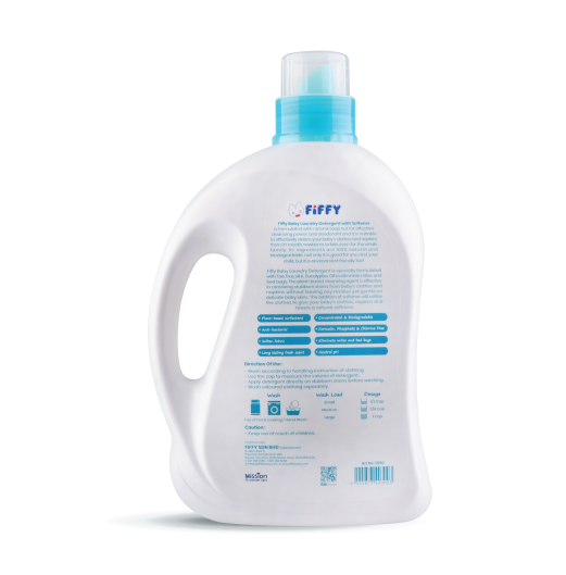 BABY LAUNDRY DETERGENT WITH SOFTENER 2L