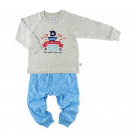 FIFFY FUN DAY SEA SHANTY LONG SLEEVE BOY PYJAMAS SUIT