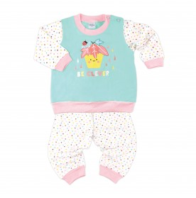 FIFFY BE CLEVER LONG SLEEVE GIRL PYJAMAS SUIT