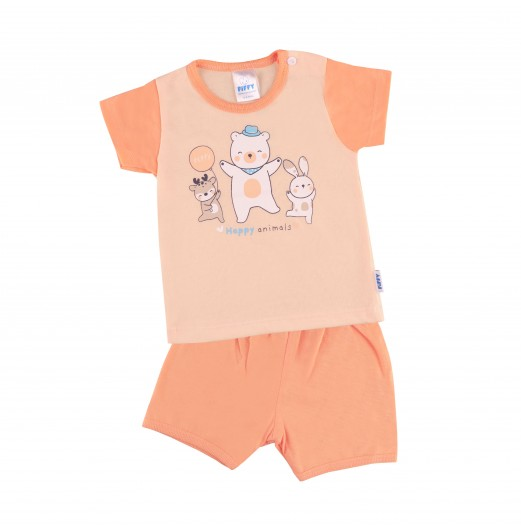 FIFFY HAPPY DAY IN LIFE T-SHIRT SUIT