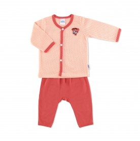FIFFY HOLIDAY TIME LONG SLEEVE VEST SUIT