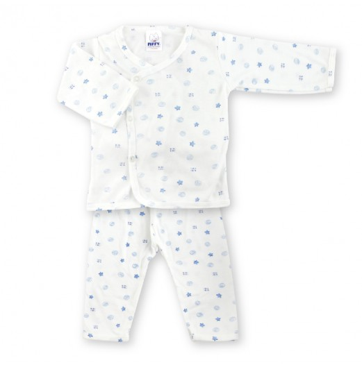 FIFFY BABY STARRY LONG SLEEVE VEST SUIT
