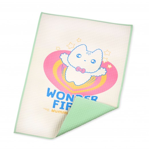FIFFY PRINTED AIR FILLED RUBBER COT SHEET (60CM X 90CM)