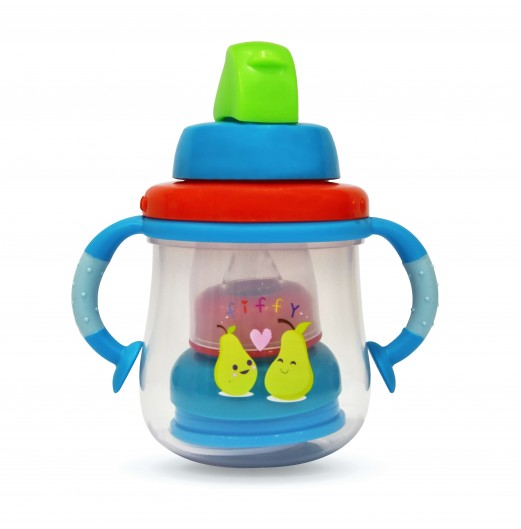 Training Cups - FIFFY PP MULTI FUNCTION CUP WITH HANDLE (300ML)