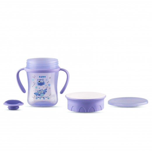 Training Cups - FIFFY 360 TRAINING SQUARE SHAPE CUP 250ML
