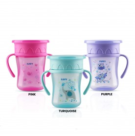 FIFFY 360 TRAINING SQUARE SHAPE CUP 250ML