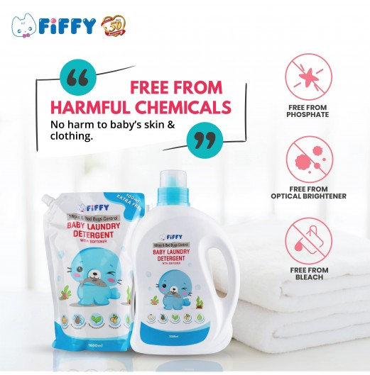 FIFFY ANTIBACTERIAL BABY LAUNDRY DETERGENT 2L