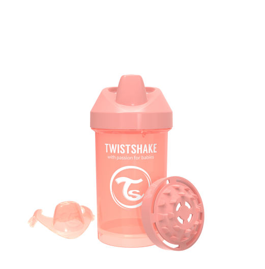 Sippy Cup - TWISTSHAKE CRAWLER CUP PASTEL 300ML 8MTHS+