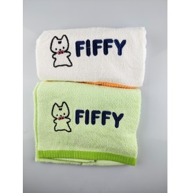 FIFFY BABY BATH TOWEL (2 PCS / PACK)