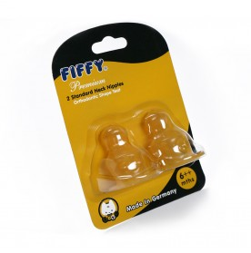 FIFFY Rubber Teat With Ventilation ( 2pcs / pkt)