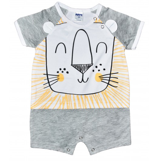 CLOTHING - FIFFY LION ROMPER