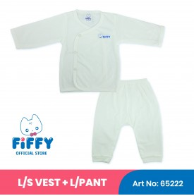 FIFFY LONG SLEEVE VEST SUIT 65222