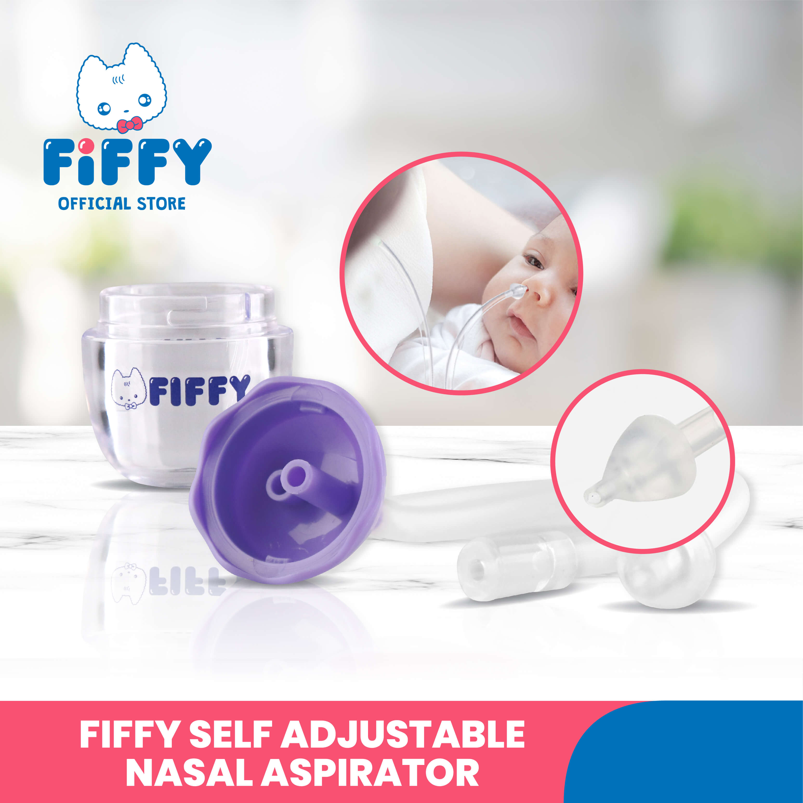 FIFFY SELF-ADJUSTMENT NASAL ASPIRATOR